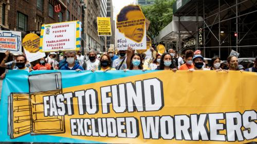 Fast to Fund Excluded Workers March