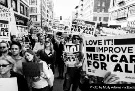 Medicare for all march